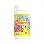 Yum V's Vitamin D Jellies Yummy Berry - 60 Chewables