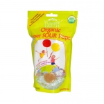 Yummy Earth Organic Super Sour Standup Lollipops - 3 oz - Case of 6