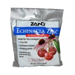 Zand HerbaLozenge Echinacea Zinc Natural Cherry - 15 Lozenges - Case of 12
