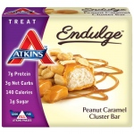 Atkins Endulge Pieces - Peanut Caramel Cluster Bar - 5 oz - 1 Case