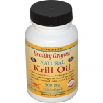 Healthy Origins Krill Oil - 500 mg - 120 Softgels