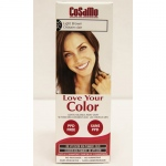 Love Your Color Hair Color - CoSaMo - Non Permanent - Light Brown - 1 Count