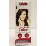 Love Your Color Hair Color - CoSaMo - Non Permanent - Med Ash Brown - 1 ct