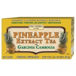 Only Natural Tea - Pineapple Extract - Garcinia Cambogia - 20 Tea Bags