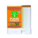 Raw Elements Sunscreen - Eco Tint - Stick - 30 Plus  - .60 oz