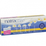 Natracare Organic Cotton Tampons - Super Plus - 20 Pack