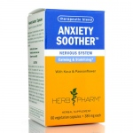 Herb Pharm Anxiety Soother - 60 Vegetarian Capsules